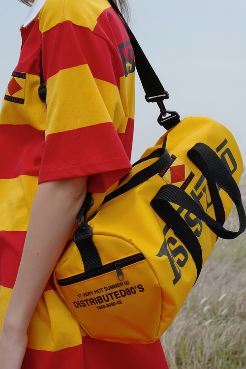 yellow sports bag