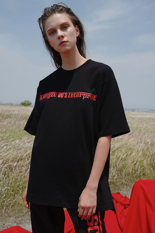black flags T-shirt