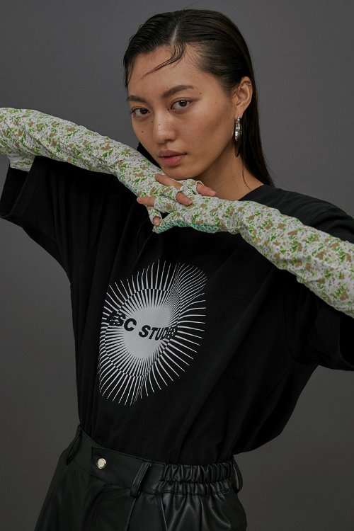ESC logo T-shirt (Black)(5/24 delivery)