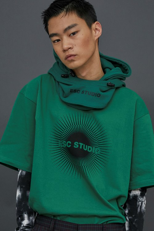 ESC logo T-shirt (Green)