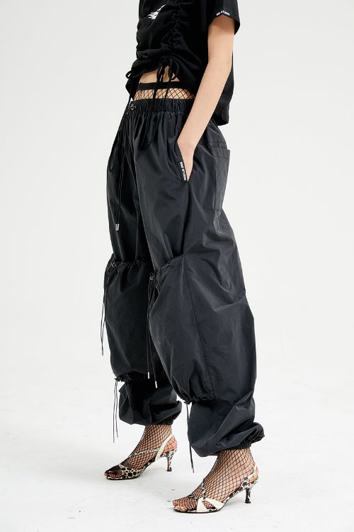 String pants (black)