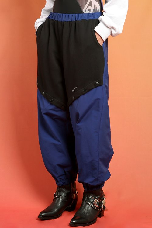 Snap training pants(blue)