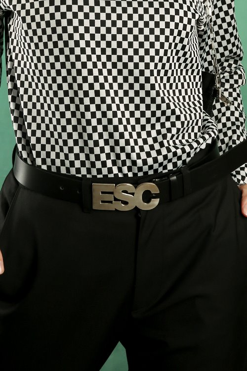 ESC leather belt (cowhide) (11/18 delivery)